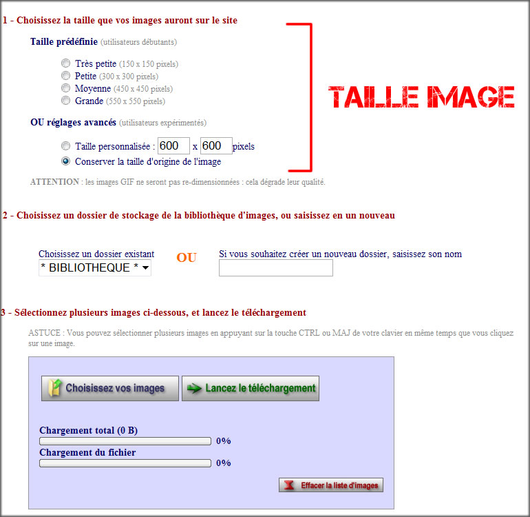blog taille image