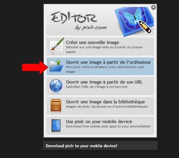 ecrire texte image sur image1