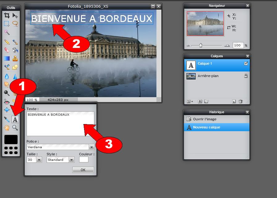 ecrire texte image sur image2